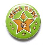 Well Done School Badge
